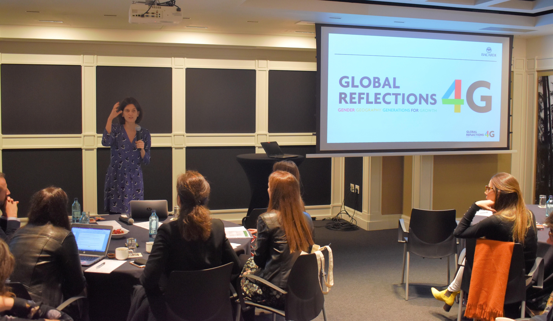 Global Reflections 4G Iberia Mentoring Programme Kickoff El pasado 4 de abril se lanzó el Iberia Mentoring Programme
